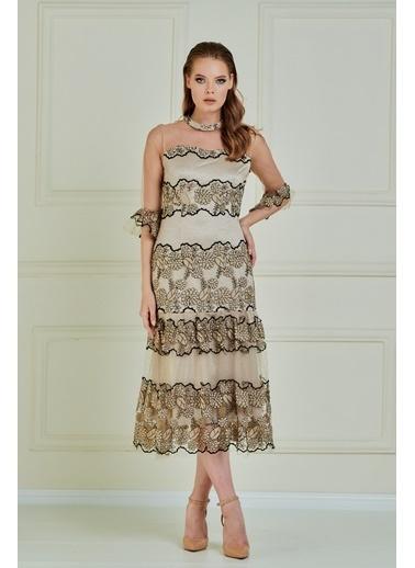JEANNE D'ARC Elbise Bej